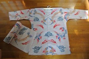 鯉口シャツ オリジナル